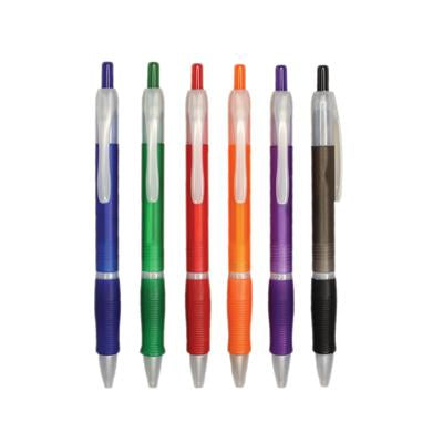 Frosty Ball Pen with Rubber Grip | Executive Corporate Gifts Singapore