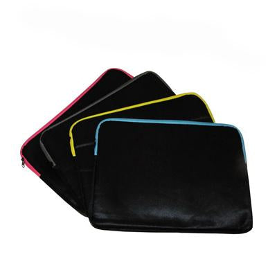 Laptop Sleeve with Coloured Zipper - abrandz