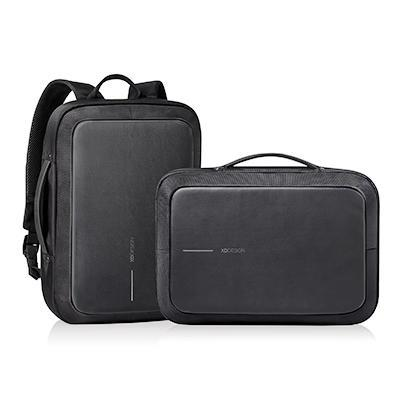 Bobby Bizz Anti Theft Backpack & Briefcase with Strap | Executive Corporate Gifts Singapore