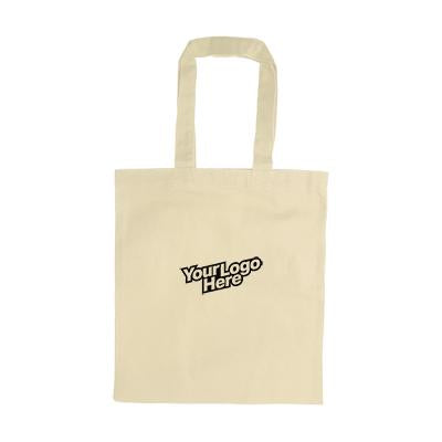 Beige Canvas Tote Bag | Executive Corporate Gifts Singapore