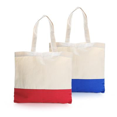 Two Tone Canvas Tote Bag | Executive Corporate Gifts Singapore