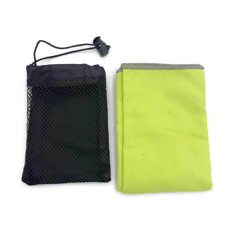 Microfiber Towel with Mesh Pouch | Executive Corporate Gifts Singapore