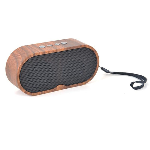 Mini Portable Eco Friendly Wooden Speaker