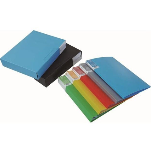 A4 File with Clear Pockets | Executive Door Gifts