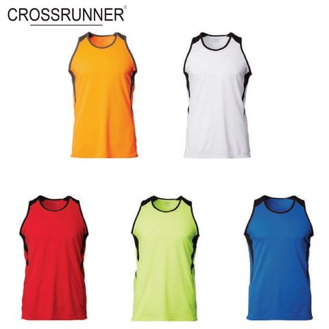 CrossRunner Unisex Dry Pique Flex Singlet | Executive Corporate Gifts Singapore