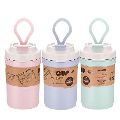 Eco Friendly Portable Bamboo Fiber Coffee Mug