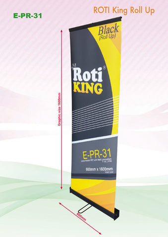 Roll Up Banner (Black Stand) | Executive Corporate Gifts Singapore