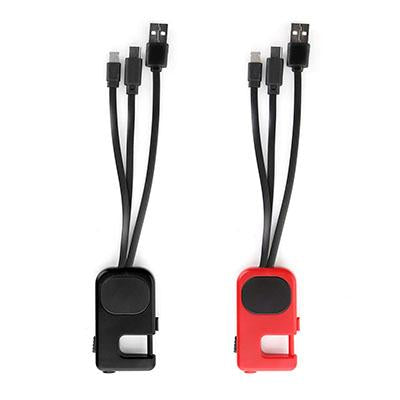 Acevedo LED 4-in-1 USB Charging Cable | Executive Corporate Gifts Singapore