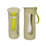 Eco Friendly Wheat Straw Glass Bottle | Executive Door Gifts