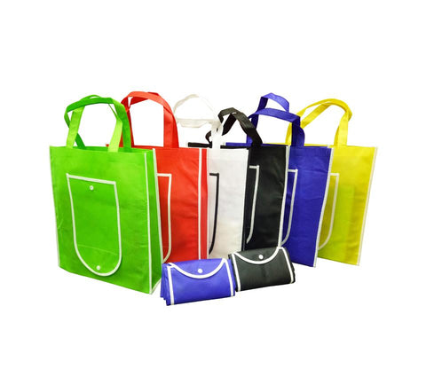 Foldable Non-Woven Bag (37.5cm x 35cm x 8.5cm) | Executive Corporate Gifts Singapore