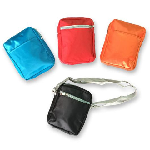 Microfiber Sling Travel Pouch with 2 Compartments