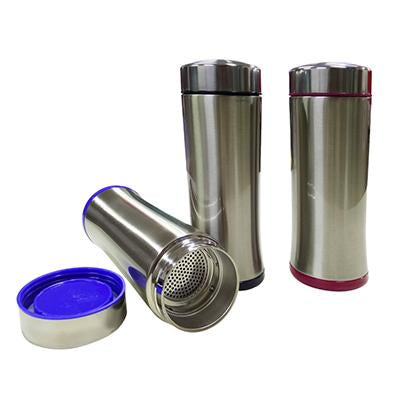 Travel Size Stainless Steel Tumbler with filter | Executive Corporate Gifts Singapore