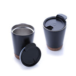Vacuum Stainless Steel Mug With Cork Base | Executive Corporate Gifts Singapore
