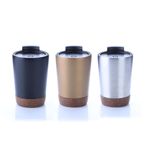 Vacuum Stainless Steel Mug With Cork Base | Executive Door Gifts