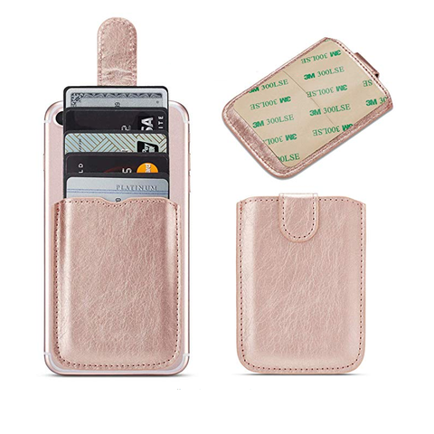 Leather Credit Card Holder for Phone