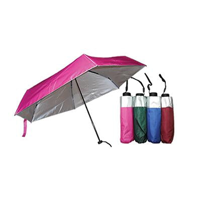 Silver Coated Foldable Umbrella | Executive Door Gifts