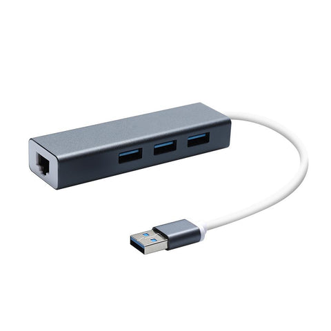 3-Port Adapter with Gigabit Ethernet Hub | Executive Door Gifts