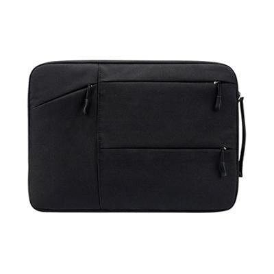 Multi Zip Padded Laptop Sleeve with Handle - abrandz