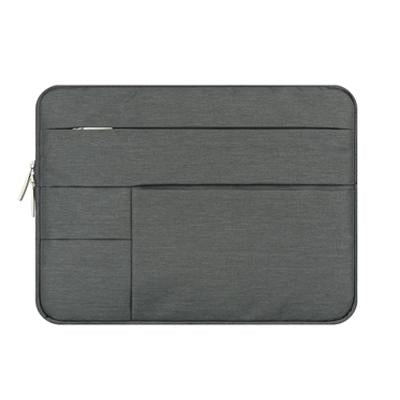 Multi Zip Padded Laptop Sleeve - abrandz