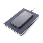 Notebook with Wireless Charger | Executive Door Gifts