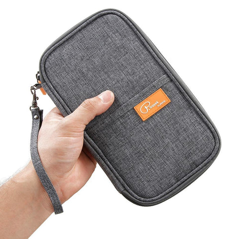 Multi Purpose RFID Blocking Travel Wallet | Executive Corporate Gifts Singapore