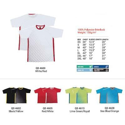 Contrast Quick Dry Round Neck T-Shirt | Executive Corporate Gifts Singapore