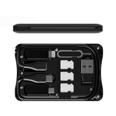 Multi-Functional Mobile Accessories Kit with Wireless Charger