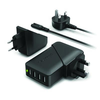 RavPower 4 Port Travel Wall Charger | Executive Corporate Gifts Singapore