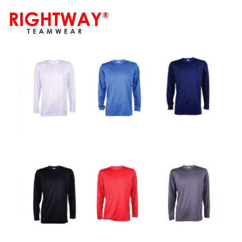 Rightway QDL54 Basic Long Sleeve T-Shirt | Executive Corporate Gifts Singapore