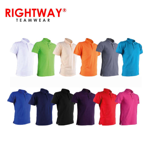 Rightway HC 80 Signature Cotton Polo T-Shirt | Executive Corporate Gifts Singapore