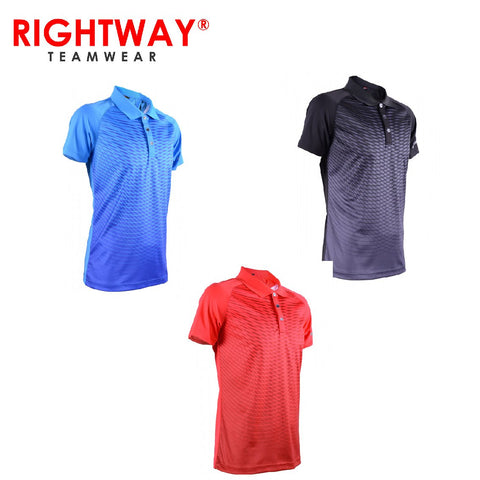 Rightway MOF 32 Reflective Collared Sublimation Polo T-shirt | Executive Corporate Gifts Singapore