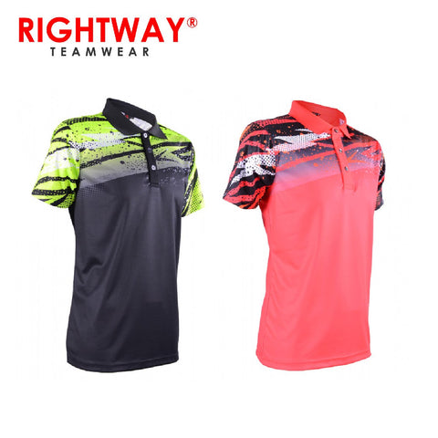 Rightway MOF 33 Neon-Tech Harimau Collared Sublimation Polo T-Shirt | Executive Corporate Gifts Singapore