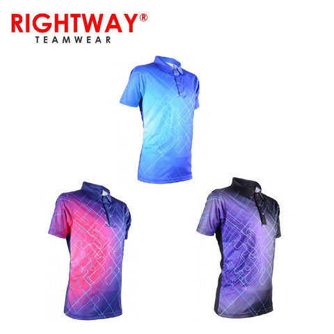RightWay MOF 38 Men's Neon-Tech Galaxy Collared Polo T-Shirt | Executive Corporate Gifts Singapore