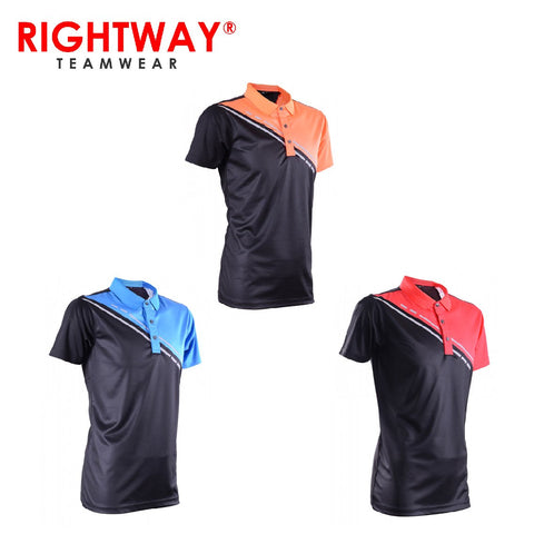Rightway MOP 43 Reflective Cross Design Polo T-Shirt | Executive Corporate Gifts Singapore