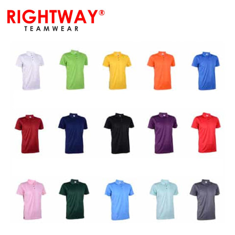 Rightway QDP 53 Basic Polo T-Shirt | Executive Corporate Gifts Singapore