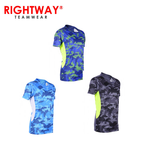 Rightway MOR 39 Sublimation Round Neck T-Shirt | Executive Corporate Gifts Singapore