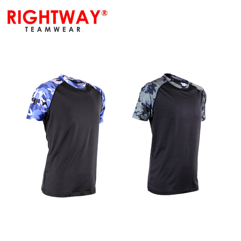Rightway MOR 47 Sublimation Round Neck T-Shirt | Executive Corporate Gifts Singapore