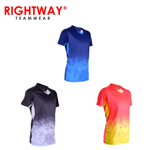 Rightway MOV 40 Neon-Tech Twilight V-Neck T-Shirt | Executive Corporate Gifts Singapore