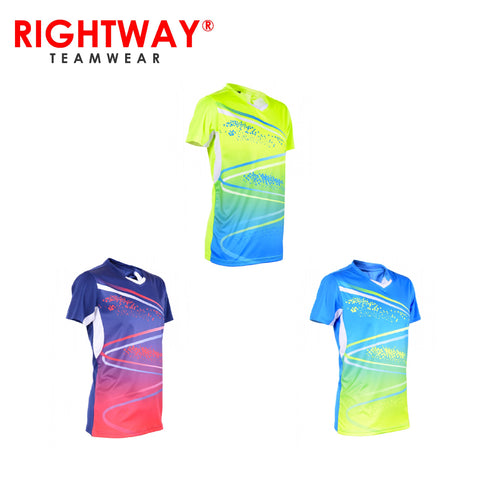 Rightway MOV 42 Neon-Tech Sparkle V-Neck T-Shirt | Executive Corporate Gifts Singapore