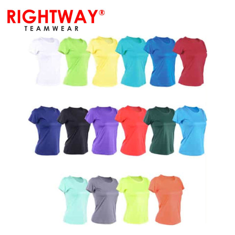 Rightway WOR Women Round Neck T-Shirt | Executive Corporate Gifts Singapore