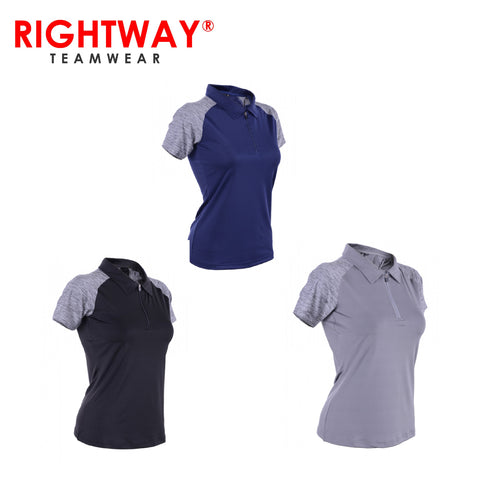 Rightway WOZ 44 Women Zipper Under-Armour Inspired T-Shirt | Executive Corporate Gifts Singapore