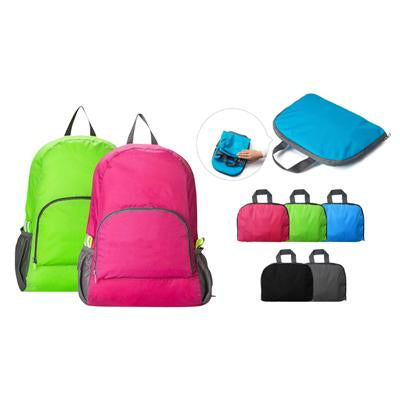 Ripstop Nylon Foldable Backpack | Executive Corporate Gifts Singapore