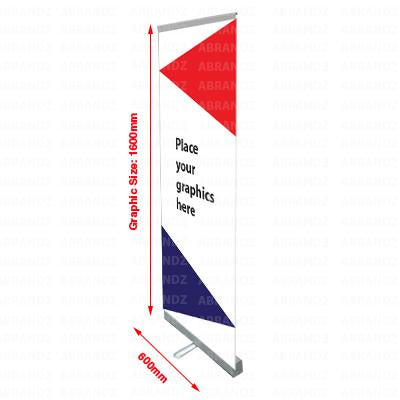 Roll Up Banner (Silver Stand) | Executive Door Gifts