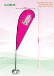 Tear shape Flying Banner with Base | Executive Door Gifts