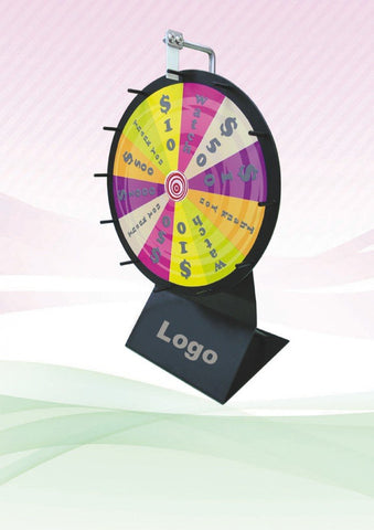 Mini Wheel of Fortune (300mm Diameter) | Executive Corporate Gifts Singapore