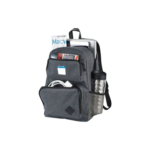 "Graphite Deluxe 15.6"" Laptop BackPack 