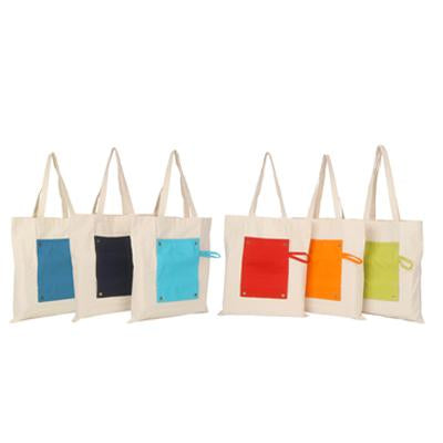 Fancy Canvas Foldable Bag | Executive Corporate Gifts Singapore