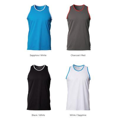 CrossRunner Unisex Dry Pique Sports Singlet | Executive Corporate Gifts Singapore