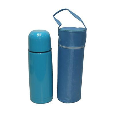 Stainless Steel Vacuum Flask with Pouch