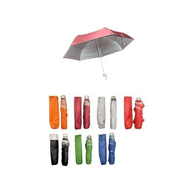 "21"" Foldable Umbrella With UV Protection 
